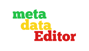 MetadataEditor – tools for corpus description